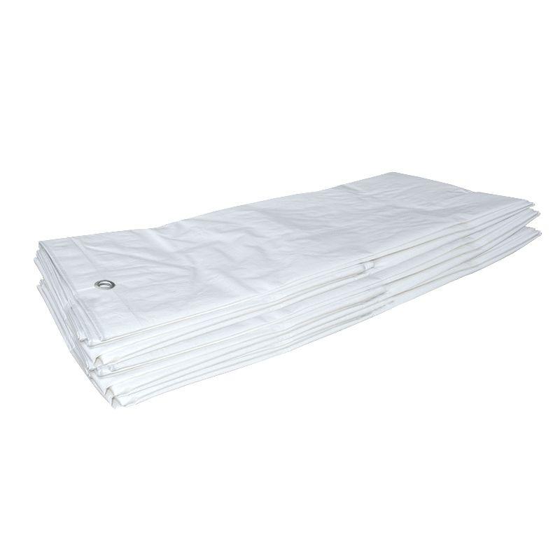 Super Dekkleed voor Vele Toepassingen - Wit - Brokers Kunststoffen B.V. RW-78