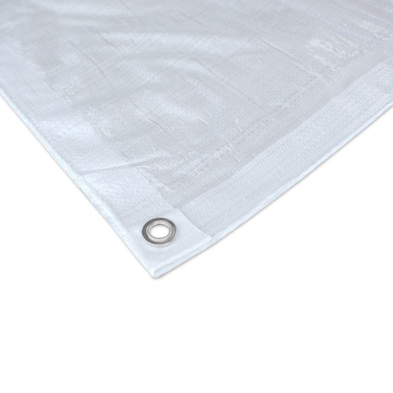Uitgelezene Dekkleed voor Vele Toepassingen - Wit - Brokers Kunststoffen B.V. QC-27